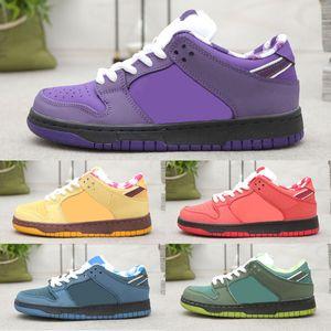 Concepts Designer en gros x Sb Dunk Low Kyrie Bleu Violet Homard Chaussures de course Dunks Femmes Hommes Baskets Zoom Baskets
