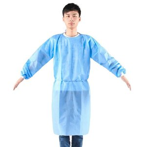 DHL Ship! Disposable Protective Clothing Isolation Clothes Dustproof Coverall Protection Gowns Non woven Breathable Protection Suits Sets