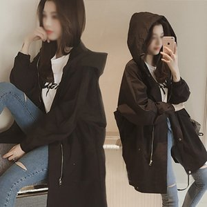 female autumn student 2019BF Windbreaker coat fashion loose small thin windbreaker coat women's fashion