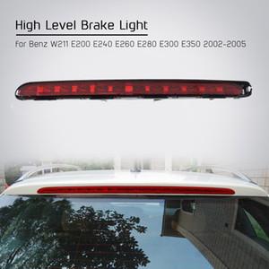 Benz W211 E200 E240 E260 E280 E300 E350 için Freeshipping Yüksek Seviye Fren Lambası Arka Kuyruk Dur Lambası LED 2002 2003 2004 2005