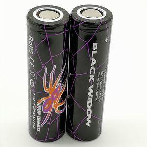 100% высокое качество Черная вдова 18650 Батарея 3500 мАч IMR 3.7 в 3500 40А 18650 батареи перезаряжаемые литиевые батареи клетки