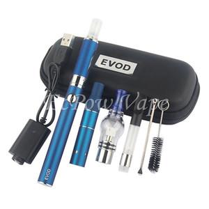 Precalentamiento EVOD Vaporizador Hierba seca 4 en 1 Herbal Wax Vape Pen Ecigs Kits para cera Hierba seca E-líquido Aceite Atomizador Plumas Somking