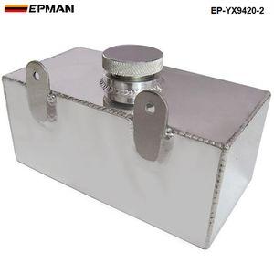 EPMAN العالمي عالية الأداء سبائك الألومنيوم مرآة مصقول الزجاج زجاجة غسالة المبرد رذاذ خزان 2 لتر EP-YX9420-2