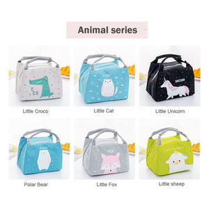 Portable Animal Thermal Insulated Cooler Waterproof Picnic Lunch Box Bag Pouch Outdoor Insulation Package Thickening Fashion
