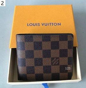 Presentes Carteira Vender Hot Black Fashion Carta Folding bolsa carteira clássico curto para Homens Mulheres Preto Carteiras Bolsas Q6 KRBW