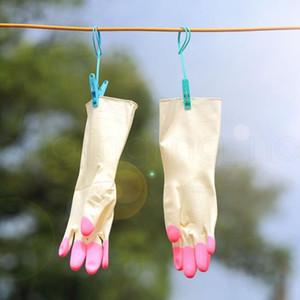 Gants de caoutchouc à laver la vaisselle étanche Gants de nettoyage pour le nettoyage de cuisine mince pour ménage Gants de nettoyage antidérapant FFA3981-6