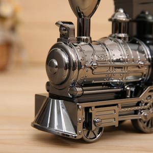 Camera Alarm Locomotiva Mechanical Clock creativo Retro Train Table Desk Clock Per la casa Soggiorno