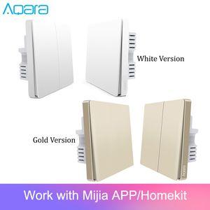 Consumer Electronics Original Aqara Switch Wall Device Smart Light Switch Remote Control Single Fire Zero Line ZigBee For Mijia Mi Home Gold