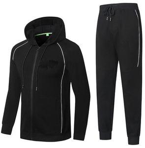 Mens Design Design Tracksuits Autunno e inverno di alta qualità in cotone da uomo comodo sottile giacca con cappuccio con cappuccio con cappuccio con cappuccio