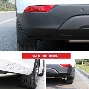 Accessori auto fango Splash agita i parafanghi della Guardia 4 pezzi di plastica per Opel Mokka / Vauxhall Mokka / Buick Encore 2013-2017