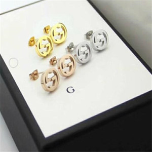 Have stamps fashion diamond hoop cc earrings aretes orecchini for lady Women Party wedding lovers gift engagement a2563