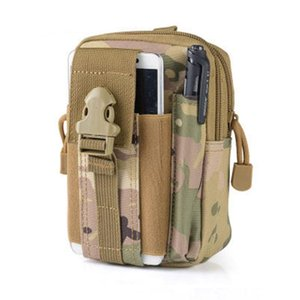 Tactical Waist Bag Molle Waterproof Travel Bags Belt Phone Pouch Army SWAT Camouflage Worker Waist Packs