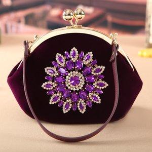 2019 neue Modemarke Frauen Diamanten Cord handtasche Kosmetiktaschen Make-Up Reise Kulturbeutel aufbewahrungstasche Make-Up Tasche