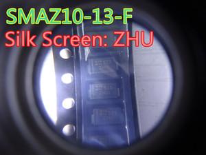 100pcs / lot New Diode SMAZ10-13-F SMA-2 1W 10V no transporte free