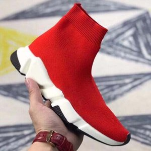 Top Quality Luxury Sock Shoe Speed Trainer Running Sneakers Speed Trainer Sock Race Runners black Shoes men and women Sports Shoes 35-44 c8W