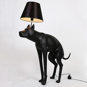 الشمال الأسود مؤخرة السفينة الكلب الطابق مصباح الرئيسية فنون الحيوانية الرئيسية غرفة فندق الخفيفة ديكور FA041