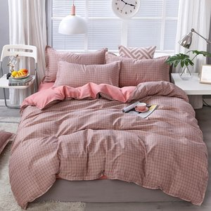 Simple Fashionable And Comfortable Bedding Set With Active Printing Sheets And Pillowcases