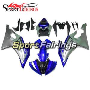 Kunststoff ABS Einspritzverkleidungen Für Yamaha YZF600 R6 2008-2016 jahr 08-16 Cowlings Motorrad Verkleidung Body Kit Rahmen Blau Silber Rahmen Neu