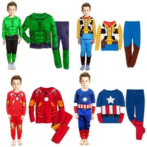 22 color design 2pcs sets Children's home wear suits for boys and girls long-sleeved tops + pants Baby kids clothes
