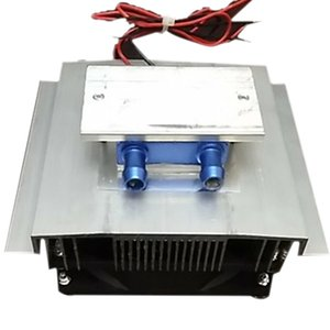 DIY Thermoelectric Cooler Cooling System Semiconductor Refrigeration System Kit Heatsink Peltier Cooler for 15L Water Other Aquarium & Fish