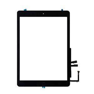 50pcs para el iPad 9.7 2018 versión IPAD 6 6ta GEN A1893 A1954 de la pantalla táctil de cristal con el botón Inicio