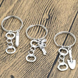 Partner In Crime inspired Keyring Best Friends BFF Token KeyChain Handcuff charm