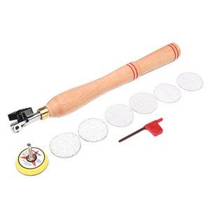 Herramienta de lijado de lijadora de tazón de madera de freeshipping con disco de lijado para herramienta de torneado de madera para torneado
