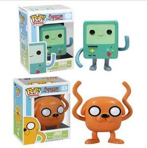Funko Pop Adventure Time avec Finn et Jake Anime Figure Collection Modèle Hot Toys Figurine Doll