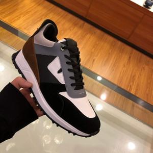 Mens Sneakers con borchie Spikes, Borsa Bugs occhi formatori, Designer scarpe multicolore stringate in camoscio bicolore suola in gomma scarpa da tennis in pelle opaca