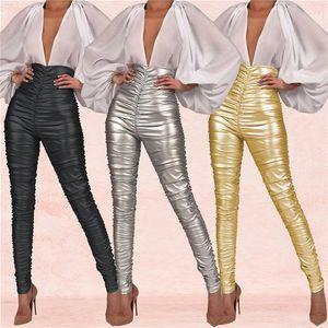 Moda-Kadın Tasarımcı Vintage Dantelli Pantolon Seksi Kadın Gece Kulübü Skinny pantolonlar Bayan Moda Yüksek Bel Capris