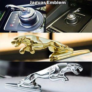 Jaguar XF XFL XFR XJ XJ6 XK S F TYPE Panther Leopard Car Emplem Metal Sploy Front Hood