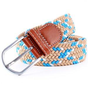 Goebel Homens Moda Belt malha Pin Buckle Mulheres Marca Belt Elasticidade Cintos Casual Luxo Unisex Alta Qualidade