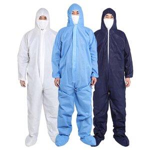 China Fábrica de roupas de proteção Atacado One Time descartável impermeável Coverall de protecção para pintura Spary Decoração Roupas geral