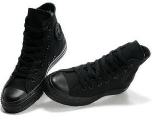 Drop Shipping Brand New 13 couleurs Toutes les tailles 35-46 étoiles haut sport Top Low Top Sneakers chaussures toile classique Souliers simple d'hommes de femmes