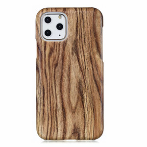 Wood Grain Case For Iphone 11 Pro Max XR XS MAX X 8 7 6 S 5S Samsung Galaxy S10 S10E Wooden Hard PC+Soft TPU Fashion Back Cover
