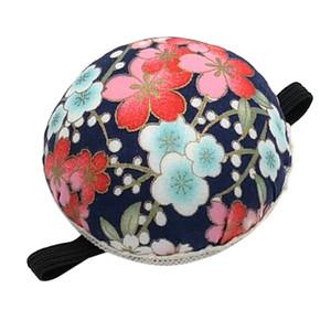 1Pcs Puntaspilli da polso Tessuto stampato rivestito Pin Cuscini Wearable ago per cucire Puntaspilli per cucito ricamo