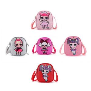 nuova coulisse zaino borse bambole giocattoli per bambini dei cartoni animati di stoccaggio di compleanno di favore di partito per le ragazze Gift Bag ricevere il pacchetto del sacchetto Nuoto spiaggia