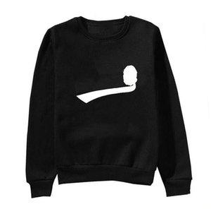 Mens Hoodies Fashion 2020 New Arrival Tide Sweatshirt Streetwear Mens Hoodie Terry Casual Long Sleeve Tops Jumpers Print Crew Neck Clothing