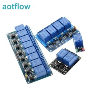 Arduino kartı için optik bağlayıcı rölesi Çıkış 1 2 4 6 8 yön rölesi modülü 5v 12v 1 2 4 6 8 kanal röle modülünün