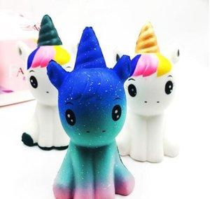 Sıcak Moda Yumuşak Squishy Unicorn Şifa Sıkmak Esnek Çocuklar Oyuncak Hediye Stres Rahatlatıcı Dekor