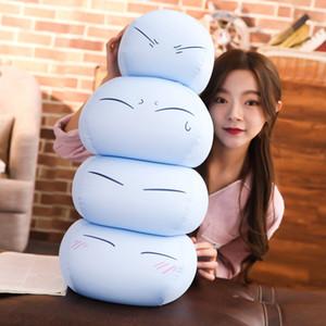 Presentes bonito do Anime Tensei Shitara Slime Plush Doll Datta Ken Mascot Toy Stuffed Toys Bed almofada travesseiro Xmas