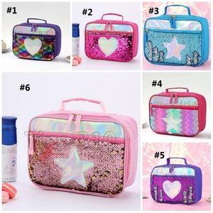 الحقيبة المعزولة الجديدة للأطفال حقيبة الغداء المحمولة المعزولة صندوق طعام المدرسة صندوق النزهة T3I5667