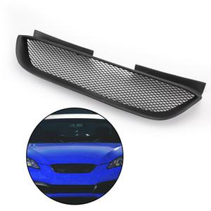 Areyourshop Araba Ön Hood Mesh Grille Tampon Izgara İçin Hyundai 2008-2012 Genesis Coupe Siyah Araba Aksesuarları Parçaları