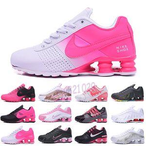Nike Air Max Shox 809 803 R4 Frete grátis Womens Shoes 809 Avenue fornecer corrente NZ R4 802 808 NZ RZ OZ Air Mulheres Grirls Sneakers Tamanho 5,5-8,5 vir sem Box G52