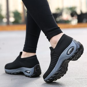 HOT Running Shoes Women Socks Sneakers Breathable Athletic Woman Sports Shoes Ladies Walking Soft Light Outdoor Platform