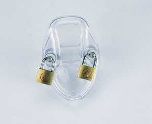International Lock Orgel Kunststoff männlich Bring erwachsene Keuschheit Gel Silica Chastity Device Sswpe