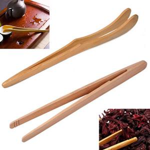 Ahşap Çay Cımbız Maşa Gıda Maşa Gıda Klip 18 cm / 7.09 inç Çay Klip Kongfu Çay Ahşap Renk Restoran Mutfak Aletleri