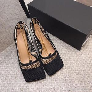 여자 하이힐 구두 패션 에센셜, 금속 체인 중공 사출 가죽 밑창, 어떤 필름이 아닌 미끄럼 텍스처 슈퍼 좋은 크기입니다