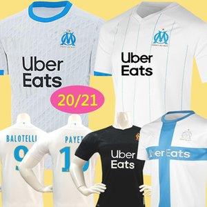 ÜST Tayland 19 20 Olympique De Marseille soccer jersey football shirt futbol forması OM formalar 2019 2020 maillot de ayak PAYET GUSTAVO THAUVIN üniformaları erkek çocuklar