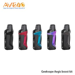 Geekvape Aegis Boost Kiti 40W Dahili 1500mAh Pil 3.7 ml Doldurulabilir Pod 0.6ohm Mesh Bobin V Geekvape Aegis Legend% 100 Orijinal ile
